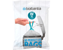 Brabantia Vuilniszakken Code W - 5 Liter (60 stuks)