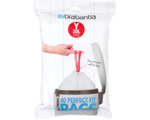 Brabantia Garbage bags Code Y - 20 Liter (40 pieces)