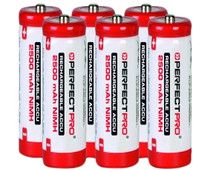 Perfectpro NiMH batteries 6 x AA