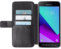 Azuri Wallet Magneet Samsung Galaxy Xcover 4 /  4s Book Case Zwart