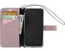 Valenta Premium Apple iPhone X Book Case Pink