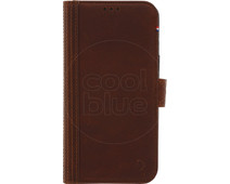 Decoded Leather Wallet Apple iPhone X/Xs Book Case Bruin