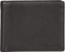 Burkely Rfid Billfold Low Black