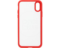 Spigen Ultra Hybrid Apple iPhone X Back Cover Rood