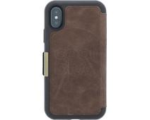 Otterbox Strada Apple iPhone X Book Case Bruin