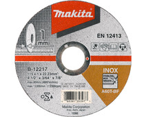Makita B-12239 Grinding disc Steel 125 mm