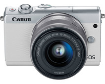 Canon EOS M100 White + 15-45mm IS STM