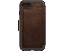 Otterbox Strada Apple iPhone SE 2/8/7/6s/6 Book Case Leather Brown