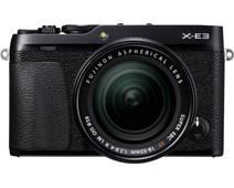 Fujifilm X-E3 Black + XF 18-55mm f/2.8-40 R LM OIS