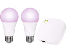 Trust Smart Home White and Color E27 Duopack + Z1 Bridge