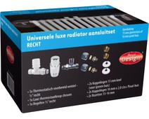 Best Design Universele Luxe Radiatoraansluitset Recht