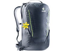 "Deuter XV 2 15"" Black 19L - Slim fit"