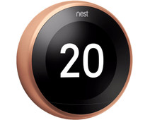 Google Nest Learning Thermostat V3 Premium Koper