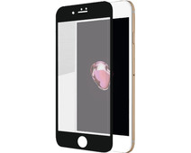 Azuri Apple iPhone 7 Plus Screen Protector Curved Tempered Glass Duo Pack Black