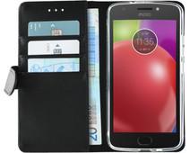 Azuri Wallet Magneet Motorola Moto E4 Book Case Zwart
