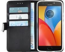 Azuri Wallet Magneet Motorola Moto E4 Plus Book Case Zwart
