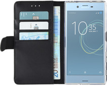 Azuri Wallet Magneet Sony Xperia XZs Book Case Zwart