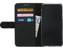 Azuri Wallet Magnetic Apple iPhone X Book Case Black