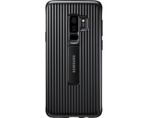 Samsung Galaxy S9 Plus Protect Stand Cover Black