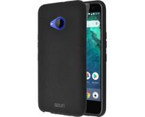 Azuri Flexible Sand HTC U11 Life Back cover Black