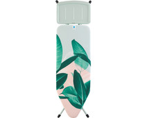 Brabantia Ironing Board C 124x45cm Tropical Leaves Steam Generator