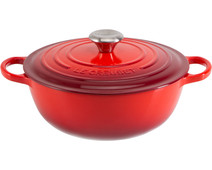 Le Creuset Marmite Dutch Oven 32 cm Cherry Red