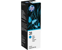 HP 31 Ink Bottle Cyan