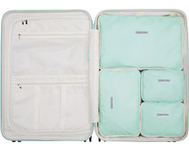 SUITSUIT Fabulous Fifties Packing Cube Set 76cm Luminous Mint
