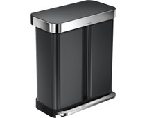 Simplehuman Rectangular Liner Pocket GFT 24+34L Anthracite