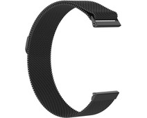 Just in Case Fitbit Versa Milanese Watchband Black