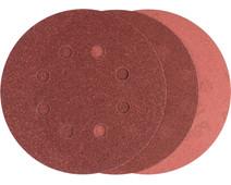 Bosch Sanding disc 125 mm K80, K120, K240 (25x)