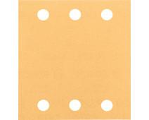 Bosch Schuurblad 115x107 mm K180 (10x)
