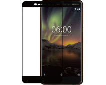 Azuri Nokia 6 (2018) Screen Protector Tempered Glass Black