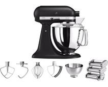 KitchenAid Artisan Mixer 5KSM175PS Onyx Black + Pasta Rolling Set