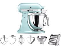 KitchenAid Artisan Mixer 5KSM175PS IJsblauw + Pastarollerset