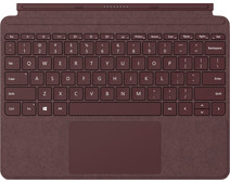 Microsoft Surface Go Type Cover QWERTY Rood