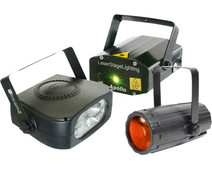 Beamz Light Package 4: Moon+LaserR/G+ 150