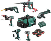 Metabo Construction & Renovation - 6 machines Combiset