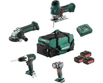 Metabo Construction & Renovation - 4 machines Combiset