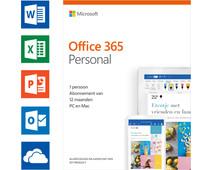 Microsoft Office 365 Personal Abonnement 1 jaar NL (2018/2019)