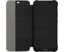Huawei P20 Lite Flip Cover Book Case Black