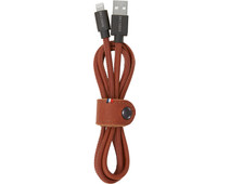 Decoded Lightning USB Cable Leather 1.2m Brown
