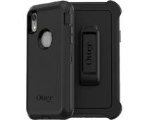 Otterbox Defender Apple iPhone Xr Back Cover Zwart