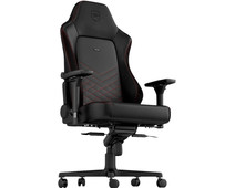 noblechairs HERO Gaming Chair - Black/Red