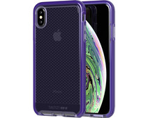 Tech21 Evo Check Apple iPhone Xs Max Back Cover Purple