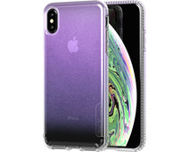 Tech21 Pure Shimmer Apple iPhone Xs Max Back Cover Iridescent Pink