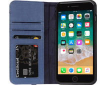Decoded Leather Wallet Case iPhone 8 Plus / 7Plus Blue