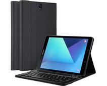 Just in Case Premium Samsung Galaxy Tab S3 Book Case Zwart QWERTY