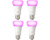 Philips Hue White and Color E27 4-Pack