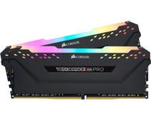 Corsair Vengeance RGB Pro 16GB DDR4 DIMM 3200 Mhz/16 (2x8GB) Black